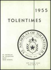 Page 5, 1955 Edition, St Nicholas of Tolentine High School - Tolentia Yearbook (Bronx, NY) online yearbook collection