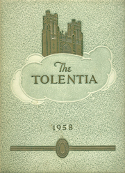 1958 Edition, St Nicholas of Tolentine High School - Tolentia Yearbook (Bronx, NY)