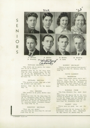 Page 12, 1939 Edition, Fonda Fultonville High School - Caughnawagan Yearbook (Fonda, NY) online yearbook collection