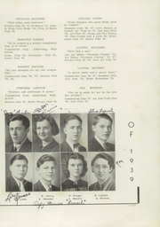 Page 13, 1939 Edition, Fonda Fultonville High School - Caughnawagan Yearbook (Fonda, NY) online yearbook collection
