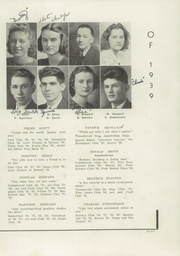Page 15, 1939 Edition, Fonda Fultonville High School - Caughnawagan Yearbook (Fonda, NY) online yearbook collection