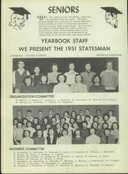Page 8, 1951 Edition, Jefferson High School - Statesman Yearbook (Rochester, NY) online yearbook collection