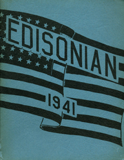 1941 Edition, Thomas A Edison High School - Edisonian Yearbook (Elmira Heights, NY)