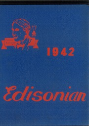 1942 Edition, Thomas A Edison High School - Edisonian Yearbook (Elmira Heights, NY)