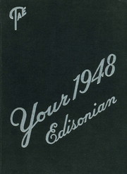 1948 Edition, Thomas A Edison High School - Edisonian Yearbook (Elmira Heights, NY)
