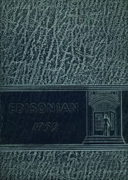 1950 Edition, Thomas A Edison High School - Edisonian Yearbook (Elmira Heights, NY)