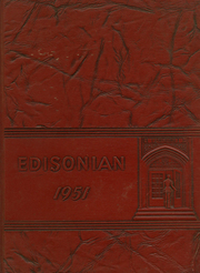 1951 Edition, Thomas A Edison High School - Edisonian Yearbook (Elmira Heights, NY)