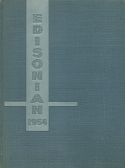 1954 Edition, Thomas A Edison High School - Edisonian Yearbook (Elmira Heights, NY)