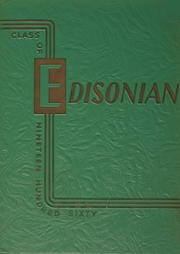 1960 Edition, Thomas A Edison High School - Edisonian Yearbook (Elmira Heights, NY)