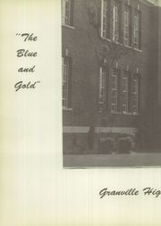 Page 6, 1956 Edition, Granville High School - Blue and Gold Yearbook (Granville, NY) online yearbook collection