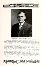 Page 17, 1914 Edition, Valparaiso University - Record Yearbook (Valparaiso, IN) online yearbook collection