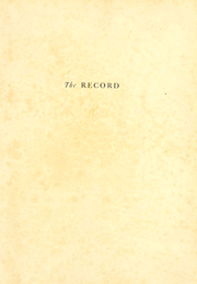 Page 2, 1924 Edition, Valparaiso University - Record Yearbook (Valparaiso, IN) online yearbook collection
