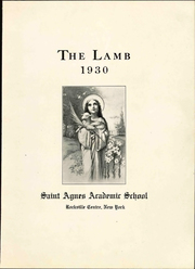 Page 9, 1930 Edition, St Agnes School - Lamb Yearbook (Rockville Centre, NY) online yearbook collection