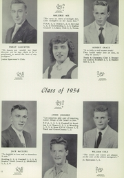 Page 15, 1954 Edition, Perry Central High School - Periscope Yearbook (Perry, NY) online yearbook collection