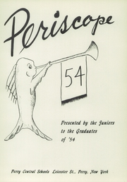 Page 5, 1954 Edition, Perry Central High School - Periscope Yearbook (Perry, NY) online yearbook collection