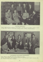 Page 15, 1952 Edition, East High School - Eastonian Yearbook (Buffalo, NY) online yearbook collection