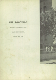 Page 4, 1952 Edition, East High School - Eastonian Yearbook (Buffalo, NY) online yearbook collection