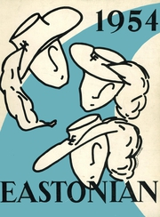 1954 Edition, East High School - Eastonian Yearbook (Buffalo, NY)