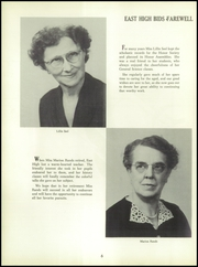 Page 10, 1954 Edition, East High School - Eastonian Yearbook (Buffalo, NY) online yearbook collection