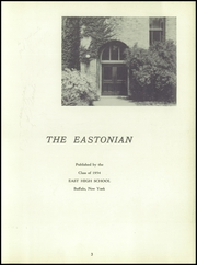 Page 7, 1954 Edition, East High School - Eastonian Yearbook (Buffalo, NY) online yearbook collection