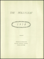 Page 5, 1950 Edition, Holley High School - Hollyleaf Yearbook (Holley, NY) online yearbook collection