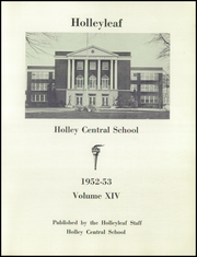 Page 5, 1953 Edition, Holley High School - Hollyleaf Yearbook (Holley, NY) online yearbook collection