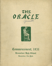 Page 1, 1931 Edition, Rensselaer High School - Crest and Shield Yearbook (Rensselaer, NY) online yearbook collection