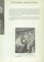 Page 17, 1956 Edition, Union Springs Central High School - Frontenac Yearbook (Union Springs, NY) online yearbook collection