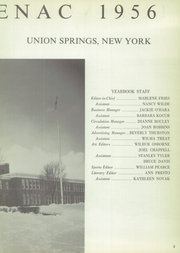 Page 7, 1956 Edition, Union Springs Central High School - Frontenac Yearbook (Union Springs, NY) online yearbook collection