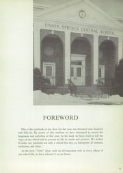 Page 9, 1956 Edition, Union Springs Central High School - Frontenac Yearbook (Union Springs, NY) online yearbook collection