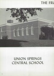 Page 6, 1957 Edition, Union Springs Central High School - Frontenac Yearbook (Union Springs, NY) online yearbook collection