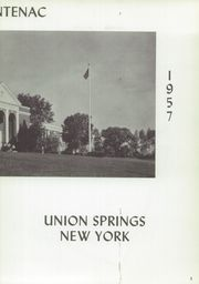 Page 7, 1957 Edition, Union Springs Central High School - Frontenac Yearbook (Union Springs, NY) online yearbook collection