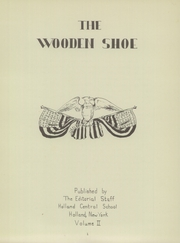 Page 5, 1948 Edition, Holland Central High School - Wooden Shoe Yearbook (Holland, NY) online yearbook collection