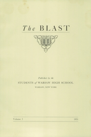 Page 3, 1931 Edition, Warsaw High School - Blast Yearbook (Warsaw, NY) online yearbook collection