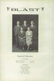Page 12, 1933 Edition, Warsaw High School - Blast Yearbook (Warsaw, NY) online yearbook collection