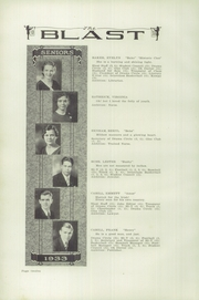 Page 16, 1933 Edition, Warsaw High School - Blast Yearbook (Warsaw, NY) online yearbook collection