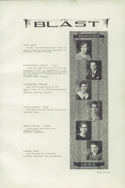 Page 17, 1933 Edition, Warsaw High School - Blast Yearbook (Warsaw, NY) online yearbook collection
