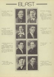Page 15, 1937 Edition, Warsaw High School - Blast Yearbook (Warsaw, NY) online yearbook collection