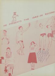 Page 8, 1950 Edition, Warsaw High School - Blast Yearbook (Warsaw, NY) online yearbook collection