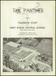 Page 7, 1952 Edition, Port Byron Central High School - Panther Yearbook (Port Byron, NY) online yearbook collection