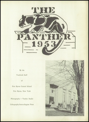 Page 7, 1953 Edition, Port Byron Central High School - Panther Yearbook (Port Byron, NY) online yearbook collection
