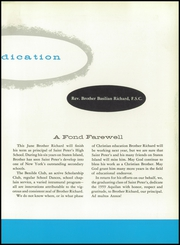 Page 11, 1959 Edition, St Peters Boys High School - Aquilan Yearbook (Staten Island, NY) online yearbook collection
