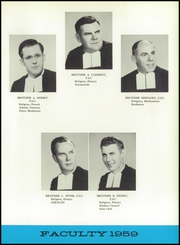 Page 15, 1959 Edition, St Peters Boys High School - Aquilan Yearbook (Staten Island, NY) online yearbook collection
