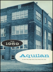 Page 7, 1959 Edition, St Peters Boys High School - Aquilan Yearbook (Staten Island, NY) online yearbook collection