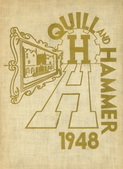 1948 Edition, Haaren High School - Quill and Hammer Yearbook (New York, NY)