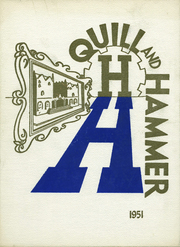 1951 Edition, Haaren High School - Quill and Hammer Yearbook (New York, NY)