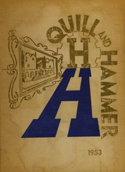 1953 Edition, Haaren High School - Quill and Hammer Yearbook (New York, NY)