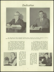 Page 8, 1955 Edition, Alexander High School - Record Yearbook (Alexander, NY) online yearbook collection