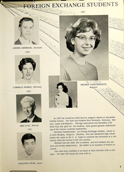 Page 9, 1962 Edition, Alexander High School - Record Yearbook (Alexander, NY) online yearbook collection