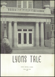 Page 5, 1955 Edition, Lyons High School - Lyons Tale Yearbook (Lyons, NY) online yearbook collection